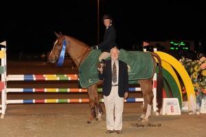 Morgan Dickerson; Champion R.W. Ronnie Mutch Equitation Championship 2013