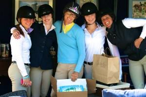 The girls gather for Tasha's Birthday celebration. Photo by Katie Browne